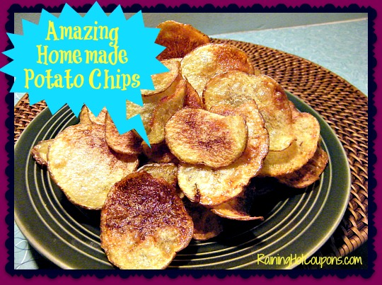 Amazing Homemade Potato Chips Recipe ~ A New Favorite