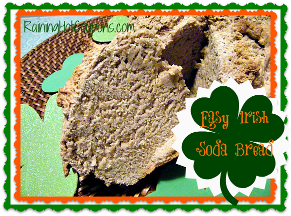 Irish Soda Bread ~ A St. Patrick's Day Treat!
