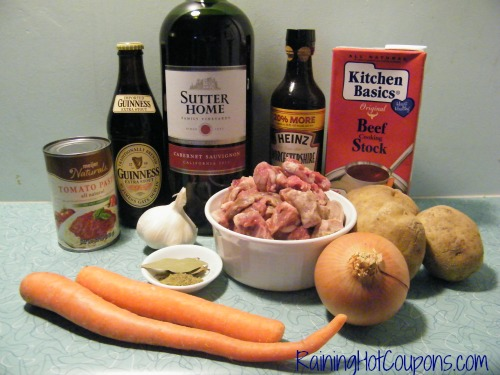 Irish Stew Ingredients Taste o the Irish Stew Recipe ~ Crock Pot or Stove Top