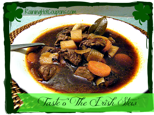 Taste o' the Irish Stew Recipe ~ Crock-Pot or Stove Top