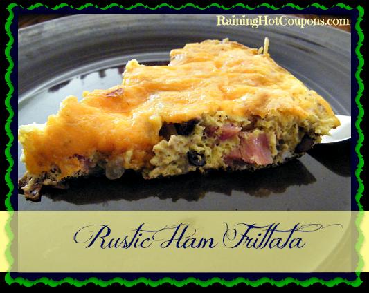 Rustic Ham Frittata Main