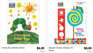 Screen Shot 2013 03 22 at 10.59.18 PM 300x172 *HOT* Totsy: Huge Eric Carle Sale: Items as low as $3.50 shipped!
