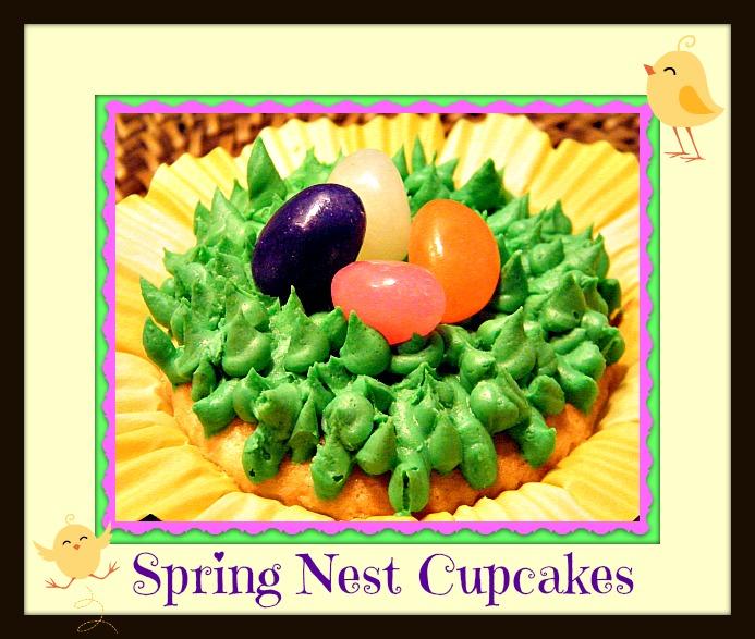 Spring Nest Cupcakes Main