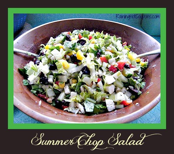 Summer Chop Salad Main