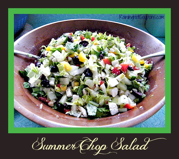 Summer Chop Salad Main