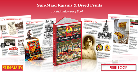 Sunmaid book giveaways