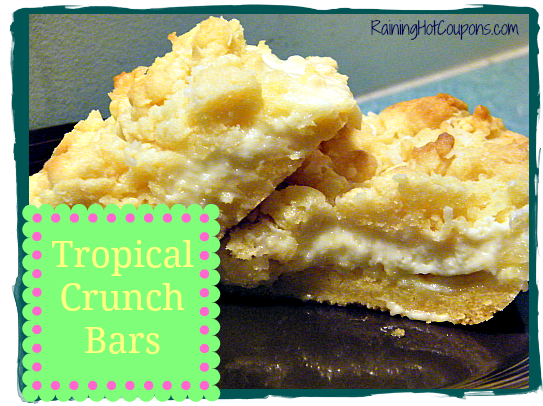 Tropical Crunch Bars Main