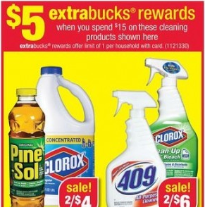 cleaning CVS: Cleaning Products as low as $.54 each!