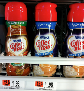 coffeemate walmart Walmart: CoffeeMate Creamer only $0.99 with Buy One, Get One FREE Printable Coupon!