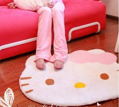 Amazon: Hello Kitty Area Rug Only $8.49 + FREE Shipping!