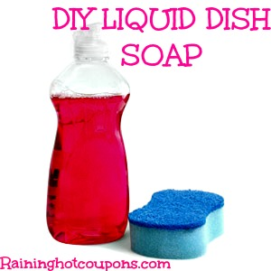 homemade dish soap How to Make Your Own Liquid Dish Soap!