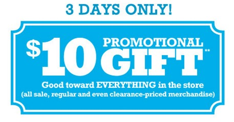 *HOT* Kohls: $10 Off a $10 Purchase Coupon = FREE Items! (Email Offer)