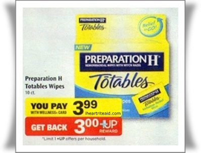 preparation h coupon FREE Preparation H Wipes at Rite Aid, Beginning 3/31!