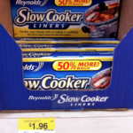 Reynold's Slow Cooker Liners only $1.41 at Walmart!