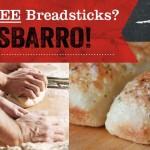 Free Breadsticks at Sbarro!