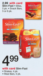 screen shot 2013 03 04 at 7 22 03 pm Slim Fast Snack Bites or Bars only $1.99 at Walgreens!