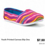 Girl's Shoes Only $7.50 (Look Like Tom's Shoes!) Reg. $25 – $40!