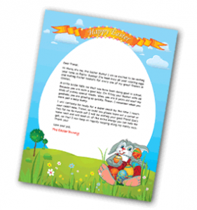 small letter 281x300 Free Personalized Letter from the Easter Bunny!