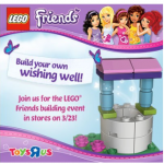 Toys R Us: FREE Friends Lego Building Event 3/23