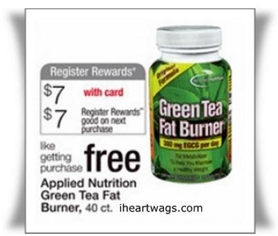 Green tea dietary supplement walgreens