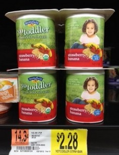 YoBaby or YoToddler Organic Yogurt Only $1.53 for a 4 Pack!