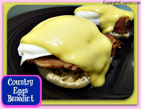 Country Eggs Benedict ~ Make Breakfast Simply Elegant