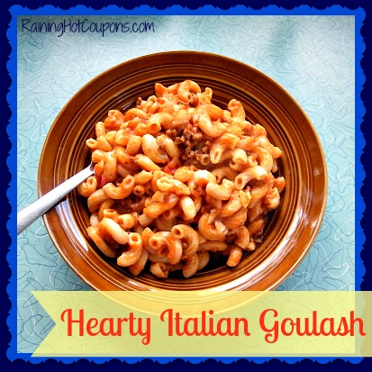 Hearty Italian Goulash Main