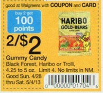 Screen Shot 2013 04 24 at 11.35.58 PM Haribo Gummy Bears Only $0.65 at Walgreens!