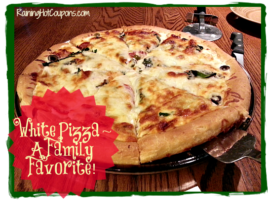 White Pizza Recipe ~ Who Needs Red Sauce?