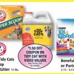 *HOT* Rite Aid: Arm & Hammer Cat Litter & Tidy Cats ONLY $1.50!