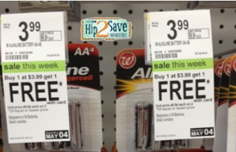 Walgreens: *HOT* Batteries Only $0.13 Each!