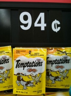 Temptation Cat Treats Only $0.57 a Bag with New Coupon!