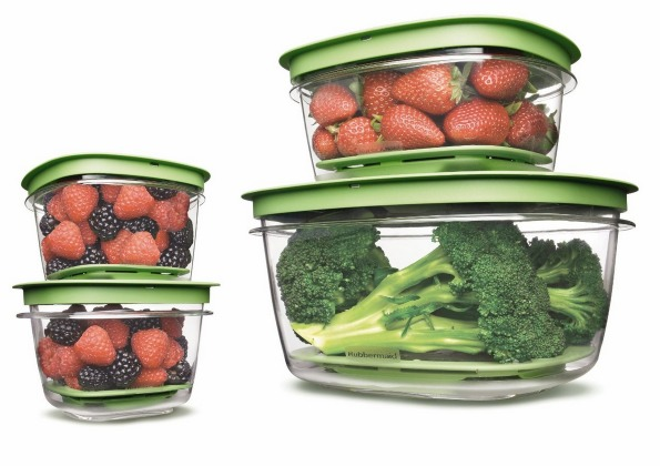 Amazon: Rubbermaid Produce Saver Square Food Storage Containers Set of 8 Only $11.99 (Reg. $19.99) + FREE Shipping