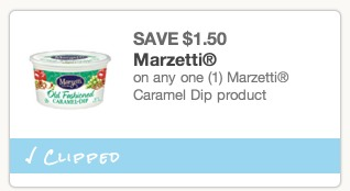 coupon caramel