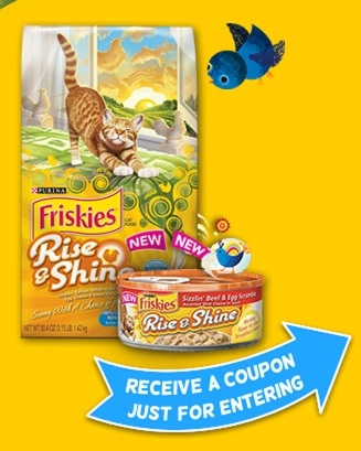 Friskies: FREE Can of New Rise & Shine Wet Cat Food Coupon + More!