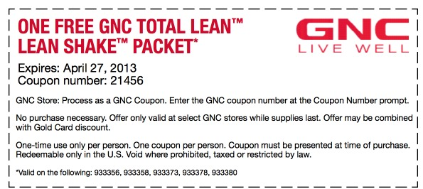 gnc discount coupons printable