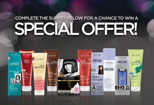 FREE John Frieda Product Sample!