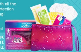 FREE Always and Tampax Radiant Sample Kit (Ages 16 22)