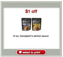 skillet sauce coupon