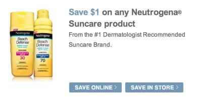 sunscreen coupon