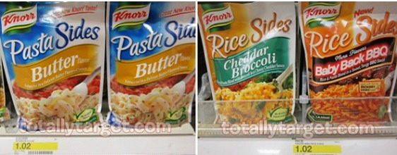 Target: Knorr Pasta or Rice Sides Only $0.27!