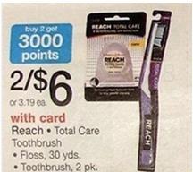 Walgreens: Reach Floss Only $0.25!