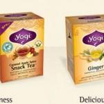 2 FREE Yogi Tea Samples!