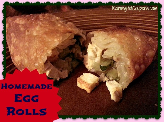 Homemade Egg Rolls ~ Why Buy Them Boxed?