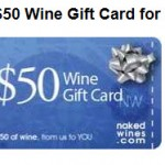 FREE $50 NakedWines.com eGift Card!