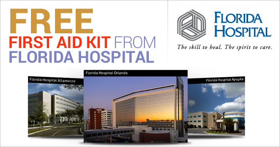 Free First Aid Kit From Florida Hospital 570x300 FREE First Aid Kit from Florida Hospital!