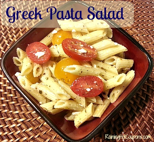 Greek Pasta Salad Main