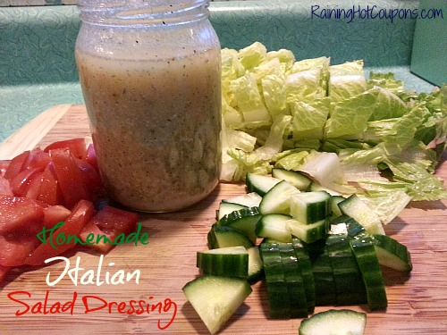 Restaurant Italian Salad Dressing ~ Make the Amazing at Home!