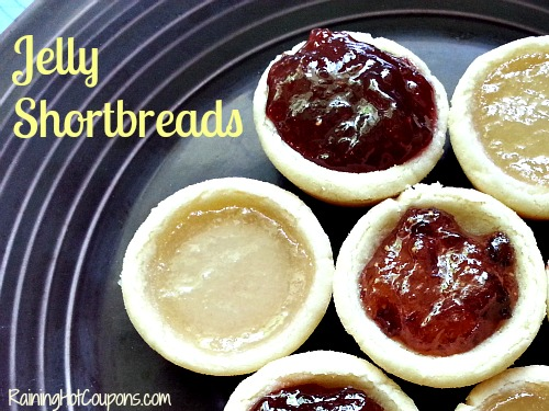 Jelly Shortbreads ~ Take Time Out for a Tea Party