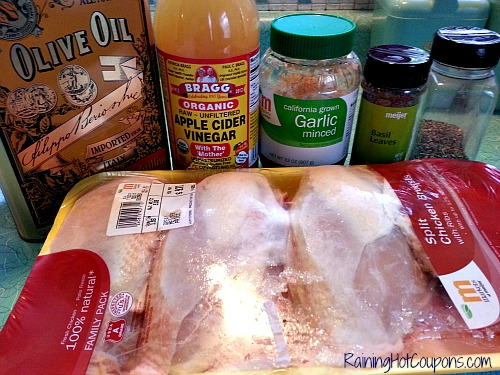 Marinated Chicken Ingredients Marinated Chicken Recipe ~ Fresh and Fantastic Right in Your Own Kitchen